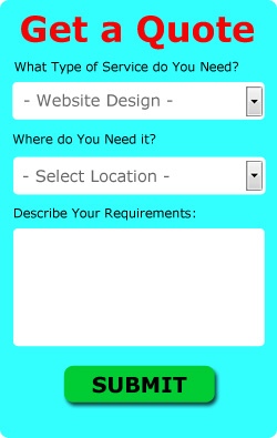 Free Peterlee Web Design Quotes